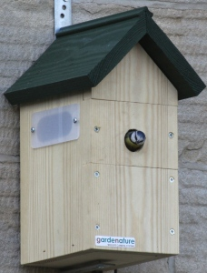 Sian's bird box is an example of a pre-made one that holds a fantastic camera, for viewing or taking photos and videos through computer or tv.